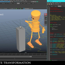 Copy and paste attributes (translate, rotate, scale) for Maya 1.0.0 (maya script)