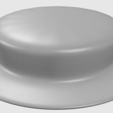 short hat 3D Model