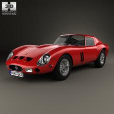 Ferrari 250 GTO (Series I) 1962 3D Model