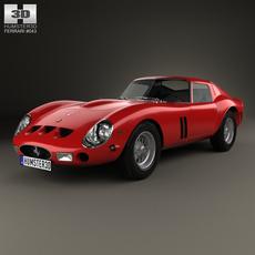 Ferrari 250 GTO (Series I) with HQ interior 1962 3D Model