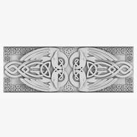 Celtic Ornament 03 3D Model