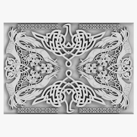 Celtic Ornament 04 3D Model