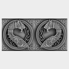 Celtic Ornament 07 3D Model