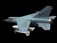 Mirage F-1 Greek Air Force Scheme 3D Model