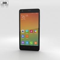 Xiaomi Redmi 2 Pink Phone 3D Model