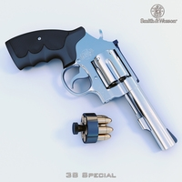 Smith Wesson 38 Special 3D Model