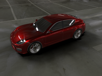 Porsche Panamera Alias Model 3D Model