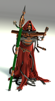 Tech-priest 3D Model