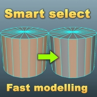 Smart select for Maya 1.0.0 (maya script)