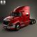 International ProStar Tractor Truck 2009 3D Model