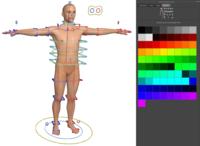 Human Character in 1 minute (skeleton, rig & bind skin in 1 minute) for Maya 3.0.0 (maya script)