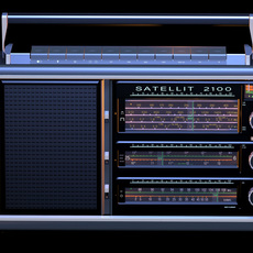 GRUNDID Satellit 2100 radio 3D Model