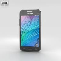 Samsung Galaxy J1 Black 3D Model