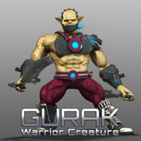 02 19 20 439 gurak warrior creature character modeling cover