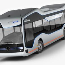 Mercedes Future Bus 3D Model
