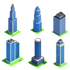 Low Poly City Pack 3D Model