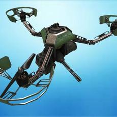 Army Drone M3-17 3D Model