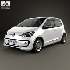 Volkswagen Up 5door BR-spec 2014 3D Model