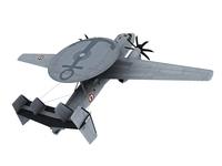 E-2 HawkEye French Marine Scheme 3D Model