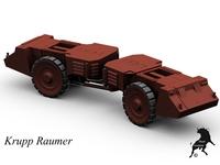Krupp Raumer 3D Model