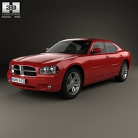 Dodge Charger (LX) 2006 3D Model