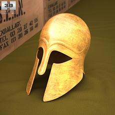 Corinthian Helmet 3D Model