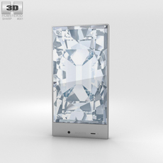 Sharp Aquos Crystal White 3D Model