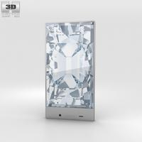 Sharp Aquos Crystal Black 3D Model
