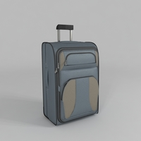 Luggage Bag 3D Model
