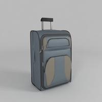 Luggage Bag 3D Model
