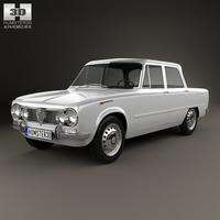Alfa Romeo Giulia (105) 1962 3D Model