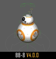 STAR WARS: BB-8 rig for Maya 4.0.0