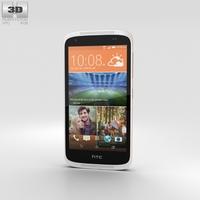 HTC Desire 526G+ Fervor Red Phone 3D Model
