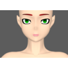 Anime Female Base 3D Model