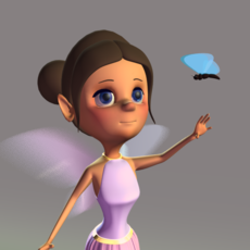 Fairy Rig 1.0.0 for Maya