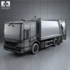 03 29 37 61 mercedes benz econic  mk1  garbage truck rolloffcon 3axle 2009 600 0003 4