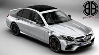 Mercedes AMG E63 S 2018 3D Model