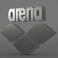 arena logo 3D Model
