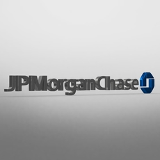 jp morgan chase logo 3D Model