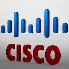 cisco logo 3D Model