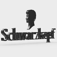 schwarzkopf logo 3D Model