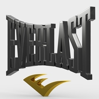 everlast logo 3D Model