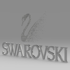 swarovski logo 3D Model