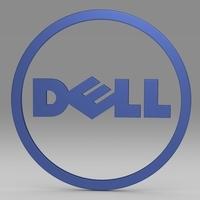 Dell logo 3D Model