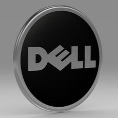 Dell logo model 3D Model