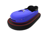 Bumper car for attractions 3D Model