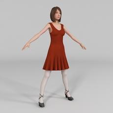 Young Women 3D Model