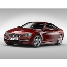 BMW 6 Series Coupe F12 (2012) 3D Model
