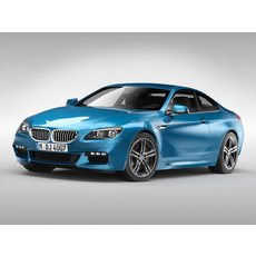 BMW 6 Series Coupe (2018) 3D Model
