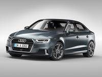 Audi A3 Sedan (2017) 3D Model